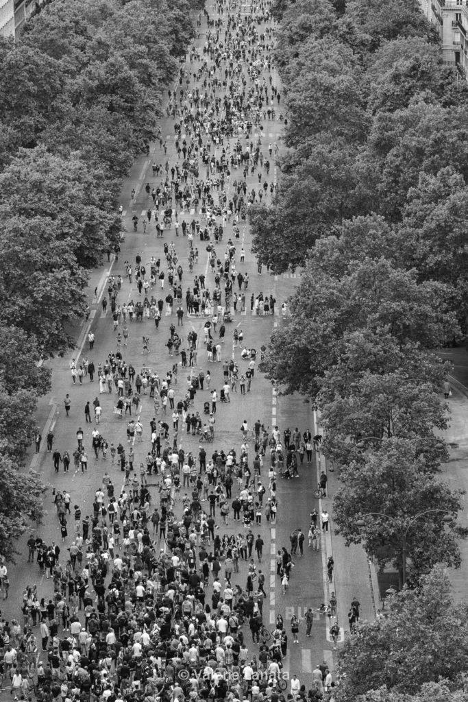 Défilé du 14 juillet 2019 sur les Champs Elysées.